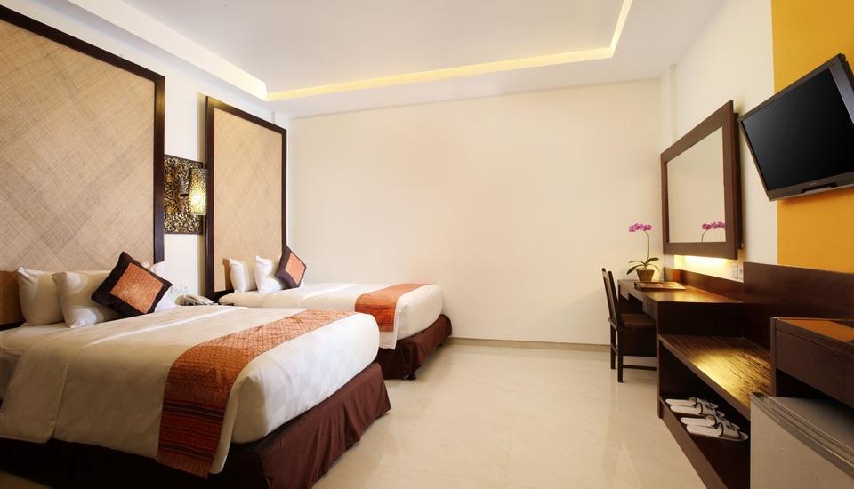 Best Western Kuta Villa Bali - Deluxe Tempat Tidur Twin