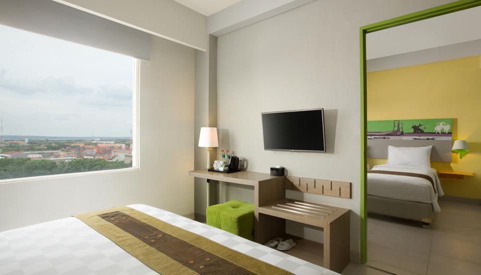 Pesonna Surabaya - Satu ranjang, dan kamar bersebelahan