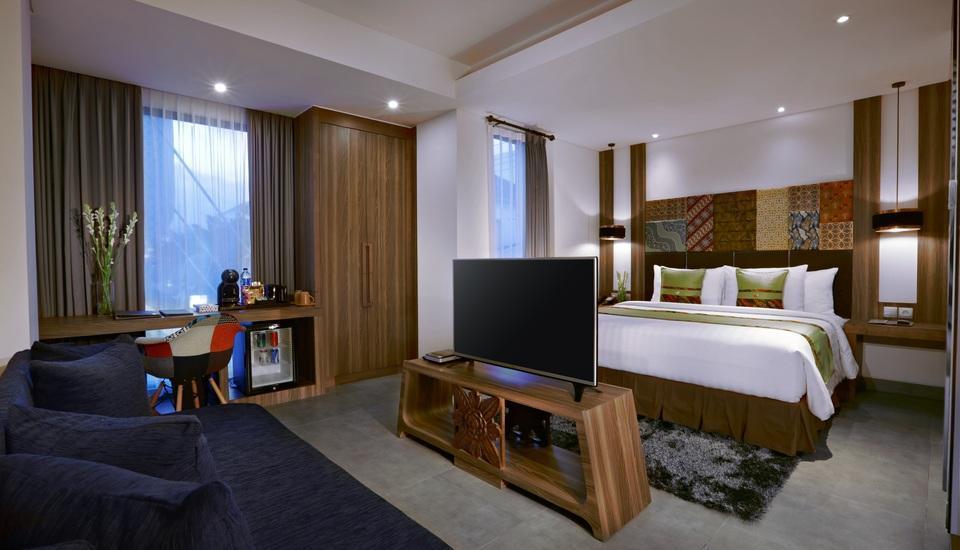 Vasanti Kuta Hotel Bali - Deluxe room with Double Bed