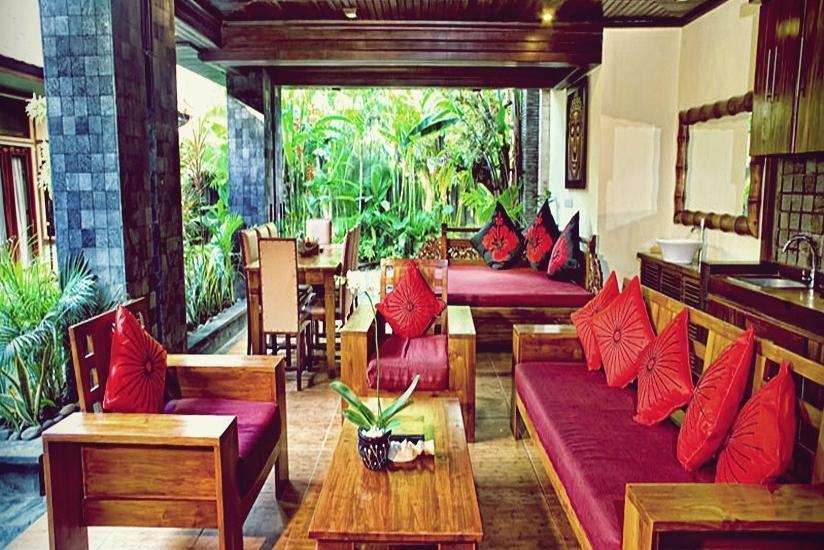 The Bali Dream Villa Bali - Ruang Tamu