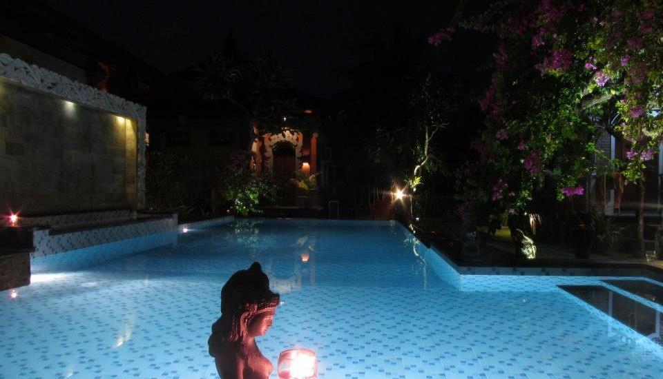Tirta Ening Agung Hotel Bali - Kolam Renang