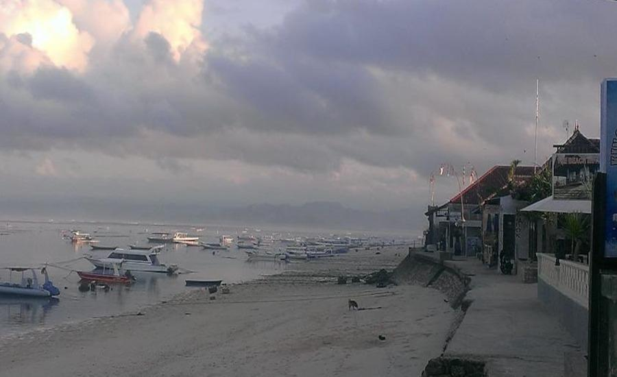Lembongan Made Inn Bali - Pemandangan laut