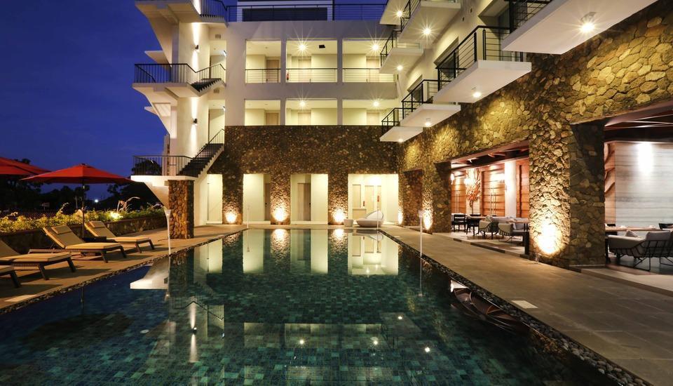 Mahogany Hotel Bali - Kolam Renang