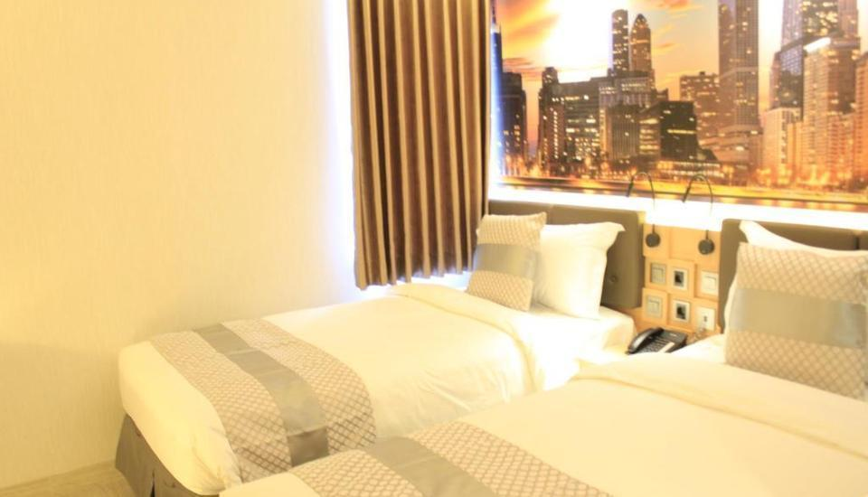 Grand Viveana Hotel Bandung - Deluxe Twin Room Only RAMADHAN PEGIPEGI PROMOTION