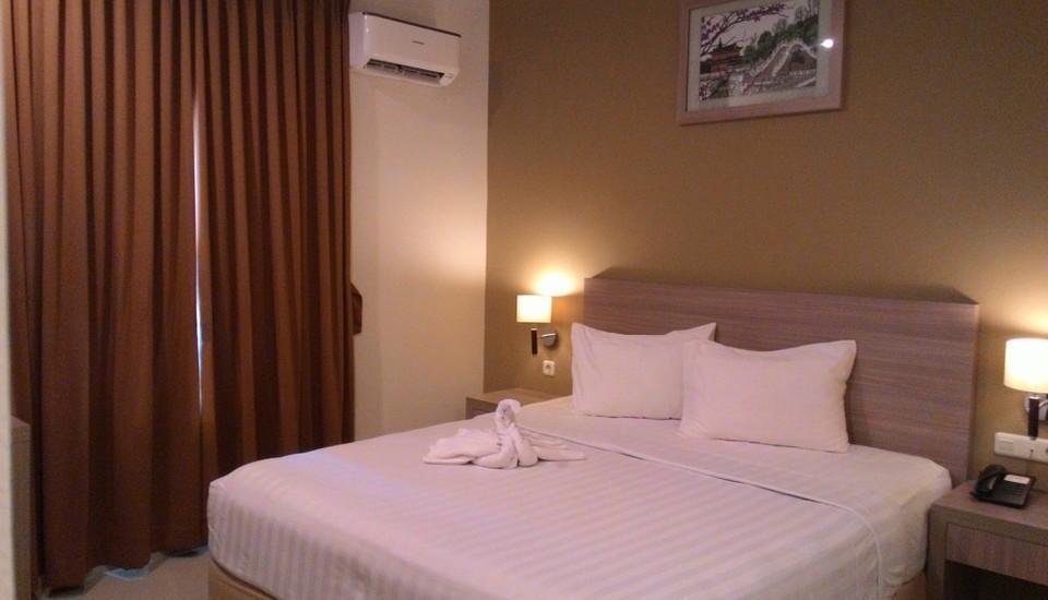 Sun Hotel Pangkalpinang - Kamar Deluxe Double