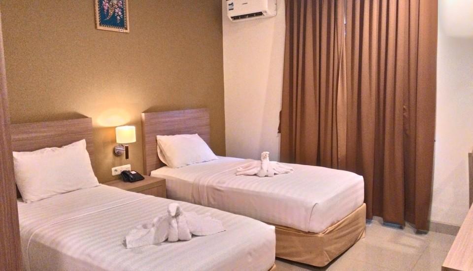Sun Hotel Pangkalpinang - Kamar Deluxe Twin