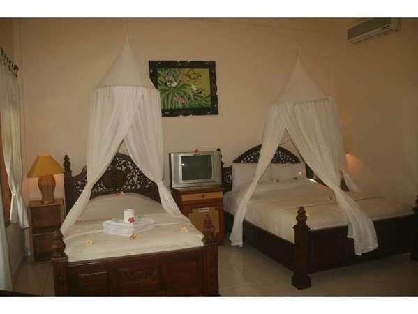 Suma Hotel Bali - tempat tidur Twin