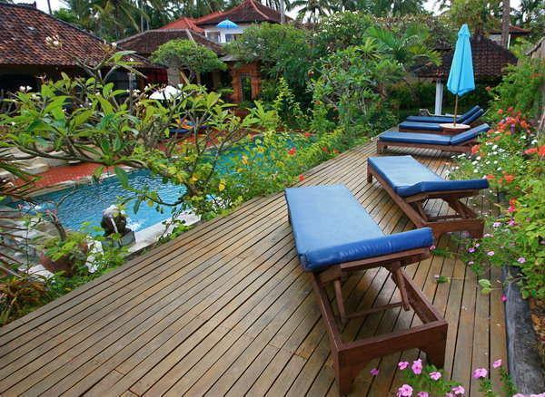 Puri Oka Beach Bungalows Bali - Pool1