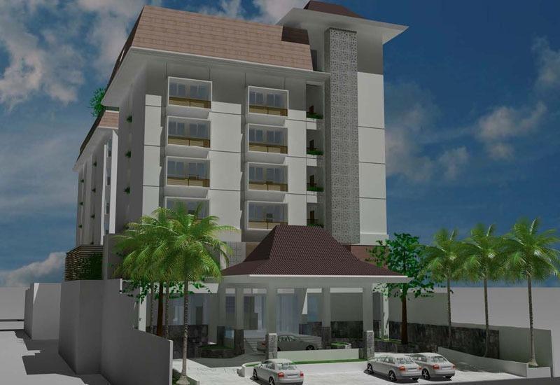 Pandanaran Prawirotaman Yogyakarta - Tampilan Luar Hotel