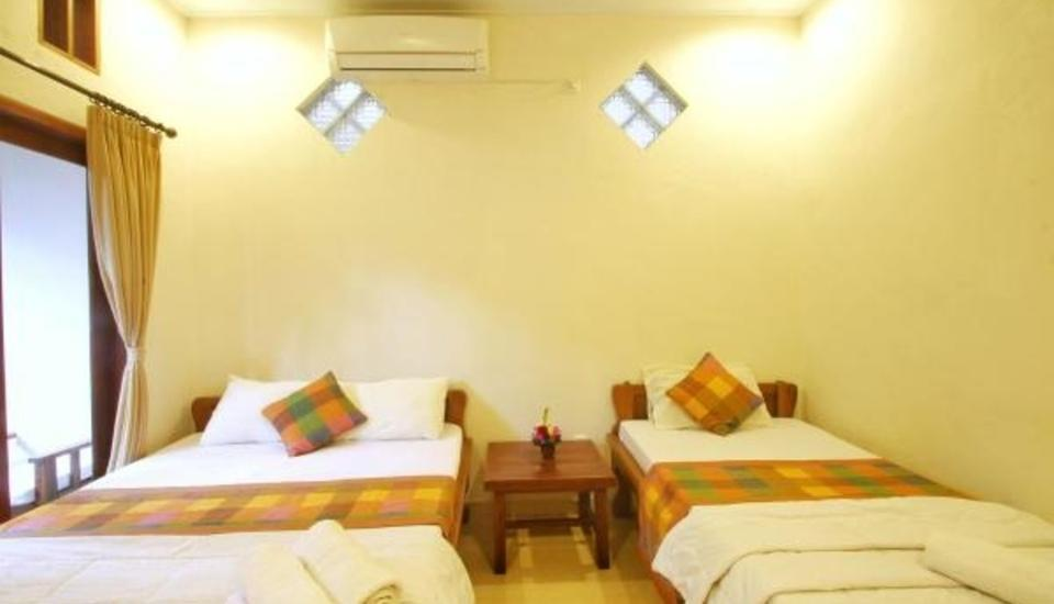 Suarsena Bungalows Ubud - Triple Room with Fan Stay Longer Promotion !