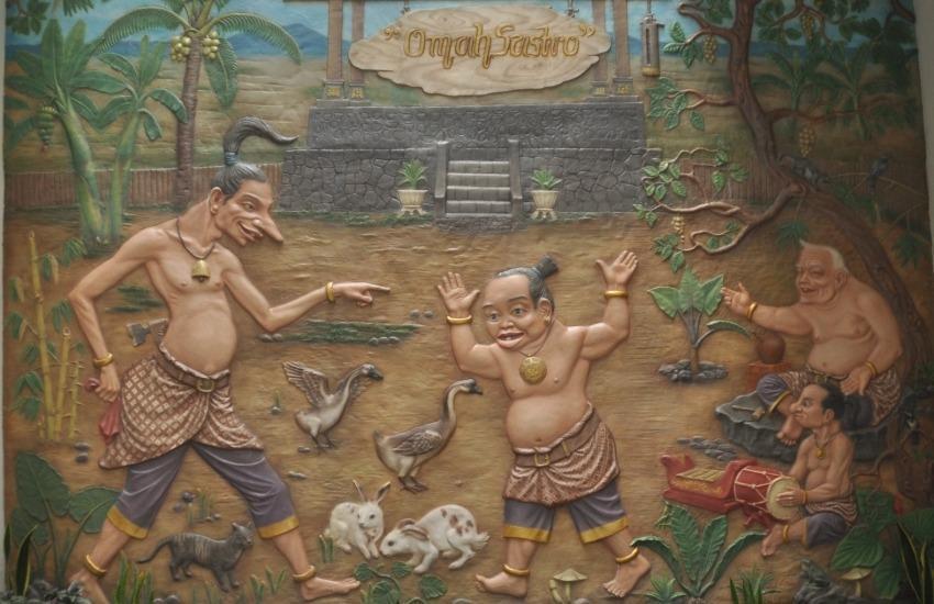 Grand Omah Sastro Yogyakarta - Diorama Semar