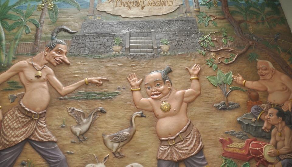 Grand Omah Sastro Yogyakarta - Diorama Punokawan