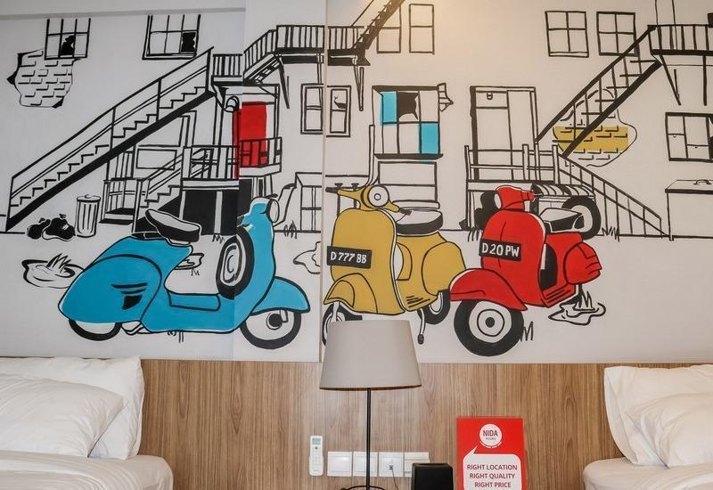 NIDA Rooms Cicendo Trade Center Bandung - Kamar tamu