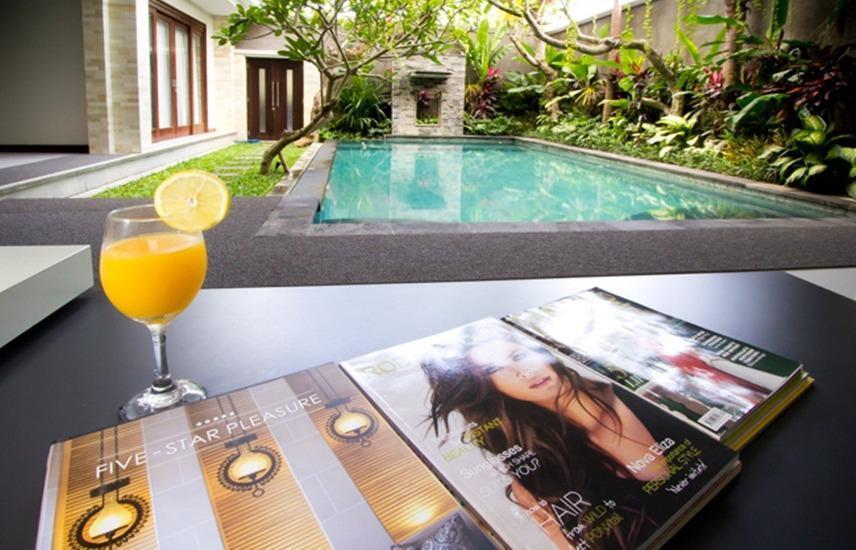 Villa Amarta I Pool Villa Bali - Kolam Renang