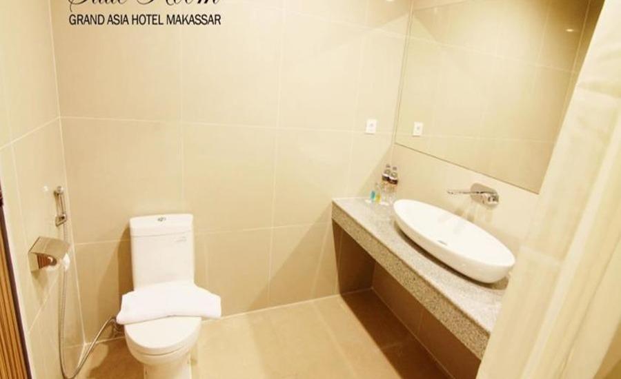 Grand Asia Hotel Makassar - Kamar mandi