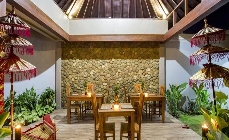 The Light Bali Villas Bali - Ruang makan