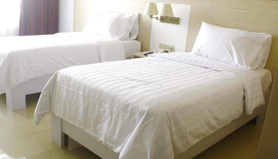 Hotel Sandjaja Palembang - Deluxe Twin Room Regular Plan