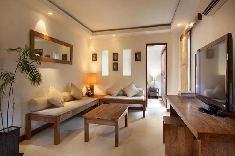 Keraton Jimbaran Resort Bali - Ruang tamu