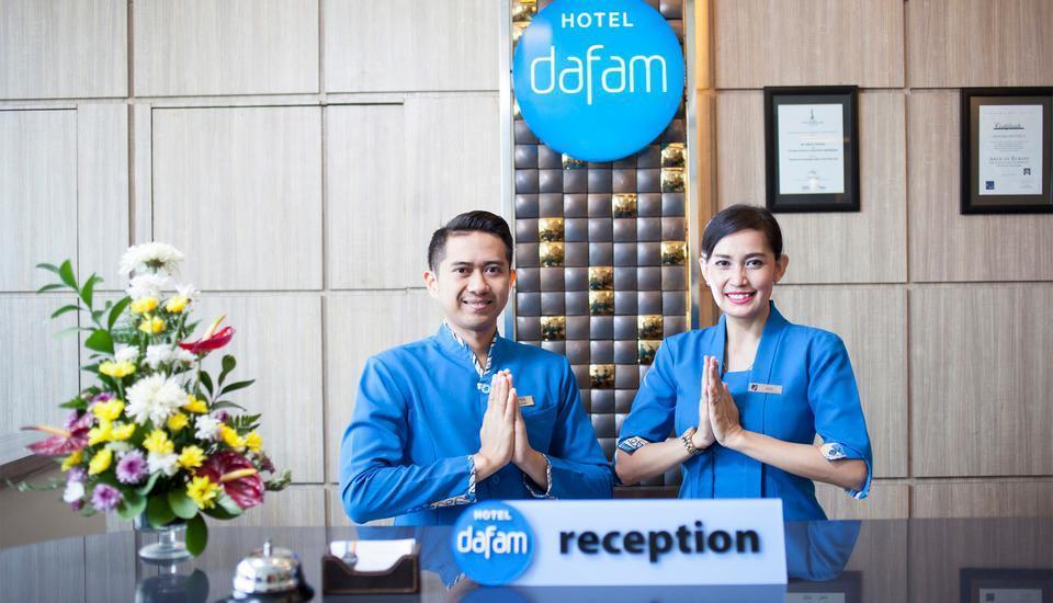 Hotel Dafam Fortuna  malioboro - Resepsionist