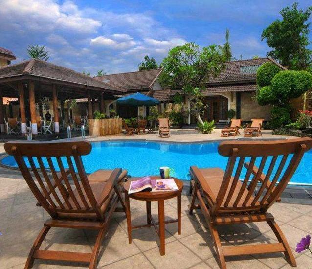 nDalem Bantul Resort Yogyakarta - Kolam Renang