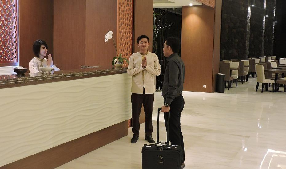 The Balava Hotel Malang - Resepsionis