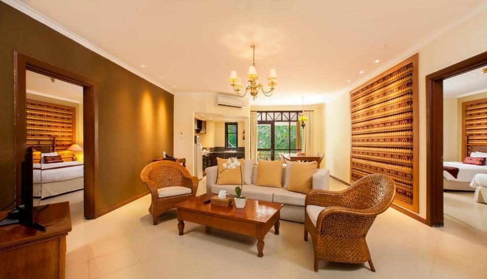 Holiday Resort Lombok - Ruang Keluarga 2 Bed Rooms Mangsit Suites
