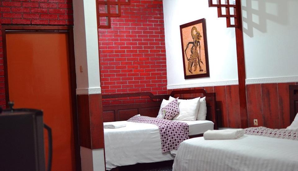 Hotel Kusuma  Yogyakarta - kamar keluarga