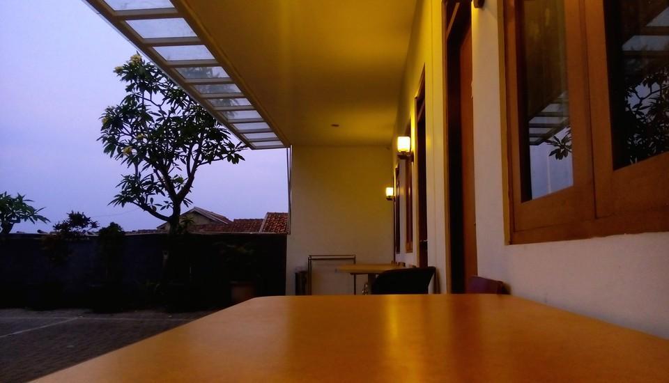 Villa Chocolate Bandung - view
