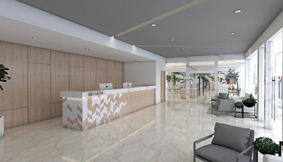 Arnava Hotel Senen Jakarta - Lobby