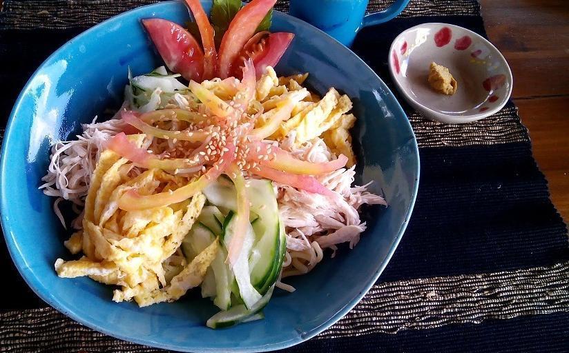 Villa Bintang Ubud Bali - meal