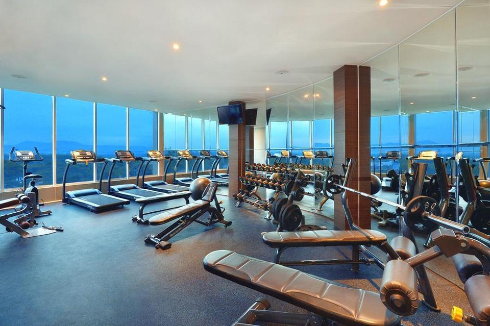 Platinum Adisucipto Hotel & Conference Center Yogyakarta Jogja - Fitness Centre