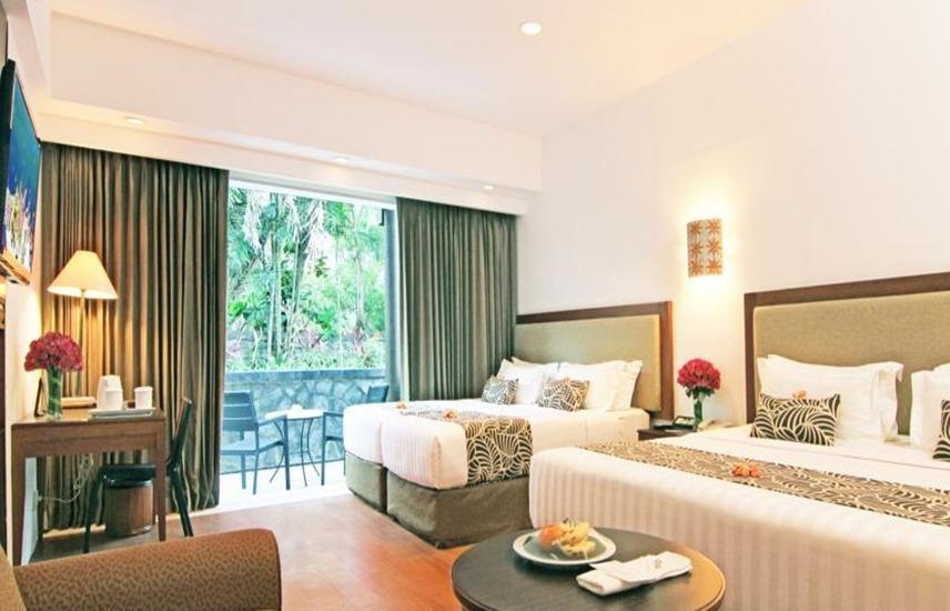 Kuta Paradiso Hotel Bali - Kamar tamu
