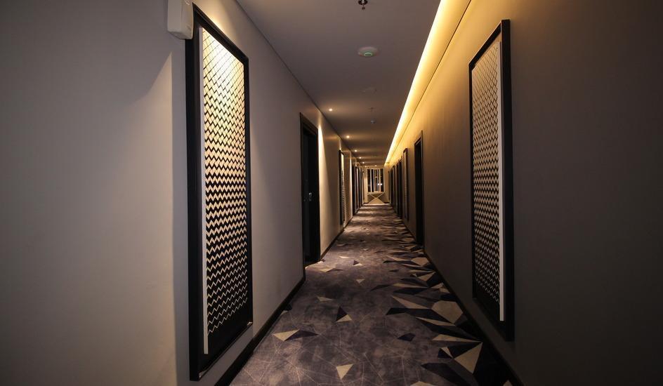 Forriz Hotel Jogja - Corridor