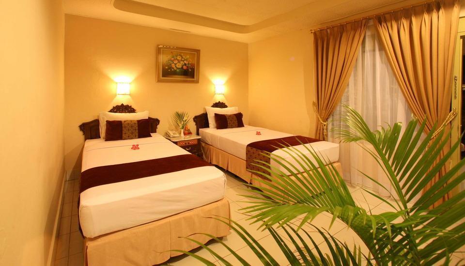 Hotel Grand Rosela Yogyakarta - moderate twin bed