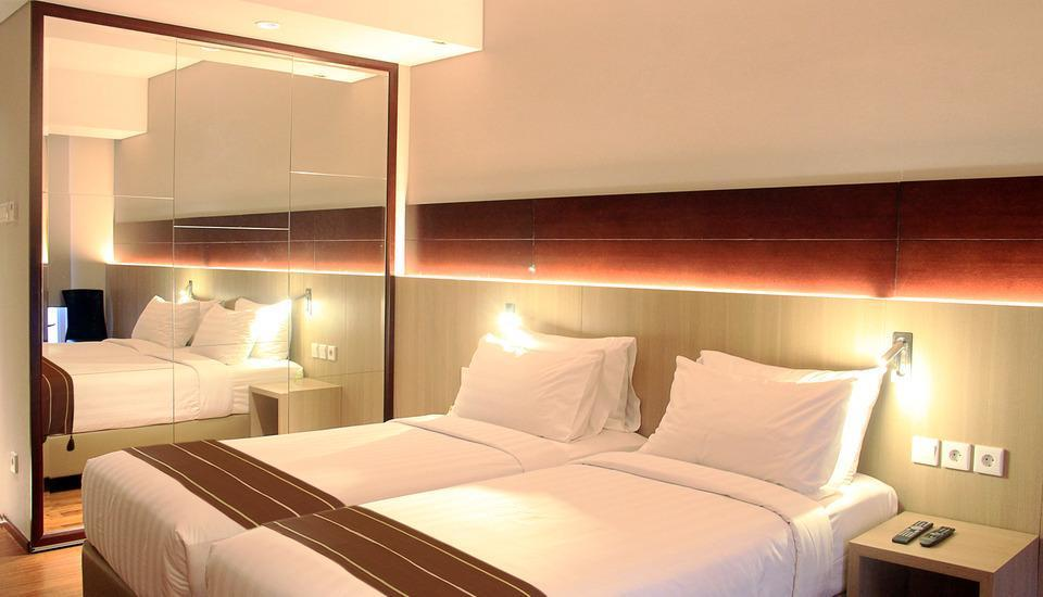 Ra Residence Simatupang Jakarta - Ra Studio Deluxe Twin Room Only LUXURY - Pegipegi Promotion