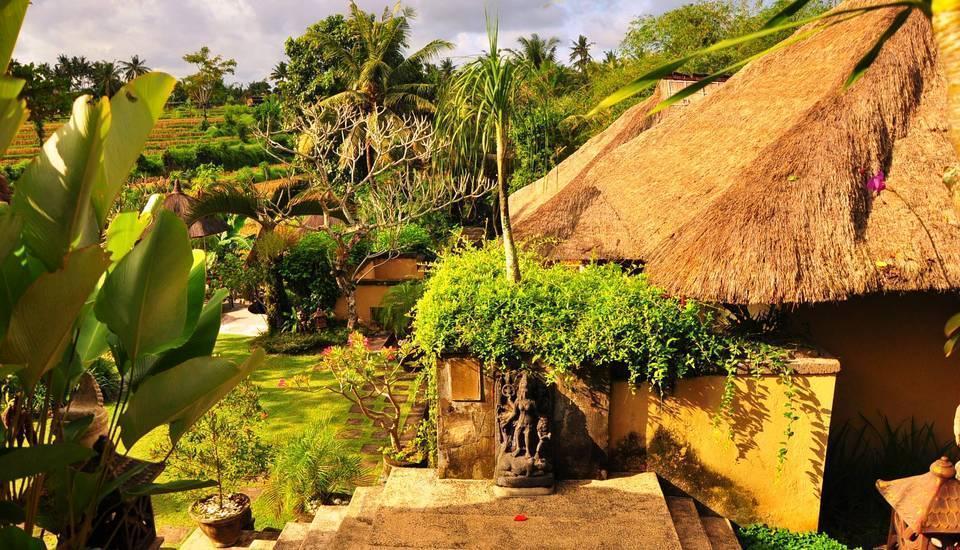 Alam Puri Art  Bali - Pemandangan Taman 1