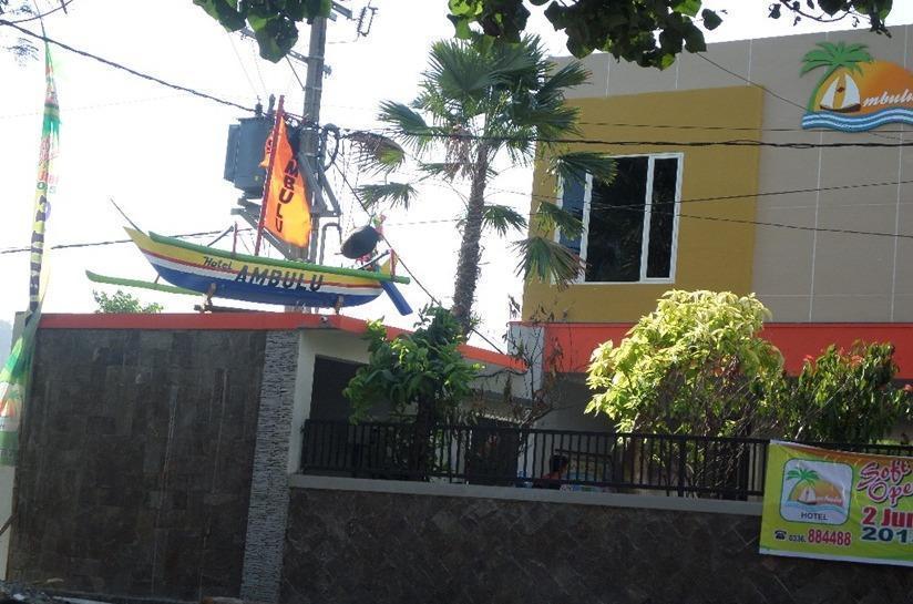 Ambulu Hotel Jember - Tampilan Luar Hotel