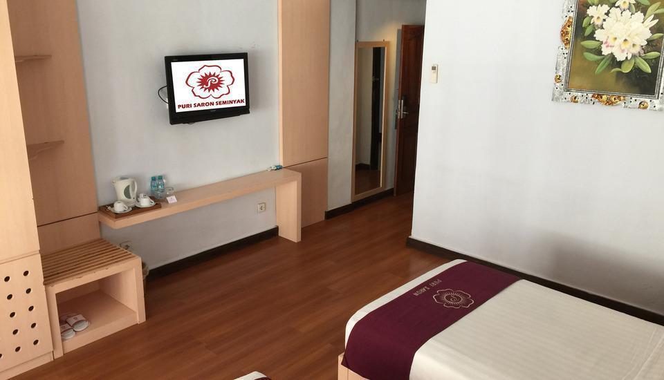 Puri Saron Hotel Seminyak - deluxe twinbed