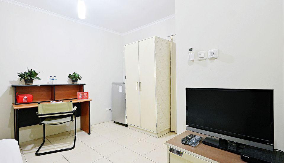 ZenRooms Mampang Prapatan Jakarta - Tempat Tidur Double