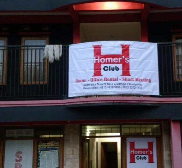 Homer's Club Bandung - Front