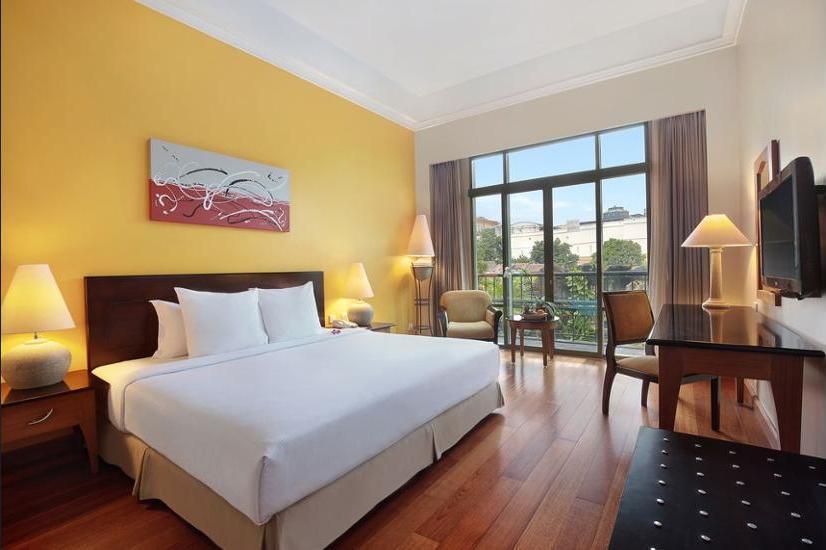Novotel Jogja - Kamar Standar, 1 tempat tidur double, pemandangan gunung Regular Plan