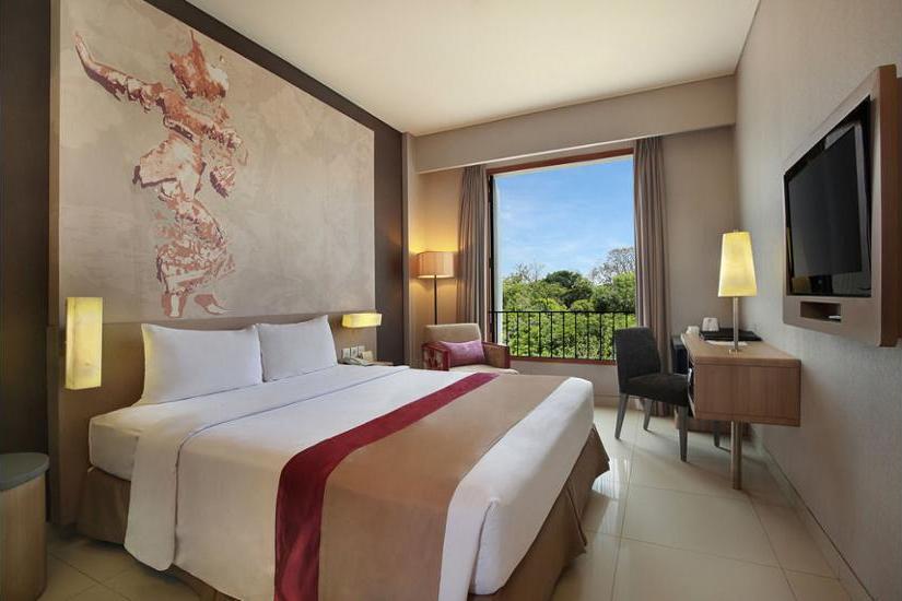 Mercure Bali Nusa Dua - Kamar Deluks, teras, dengan pemandangan Regular Plan