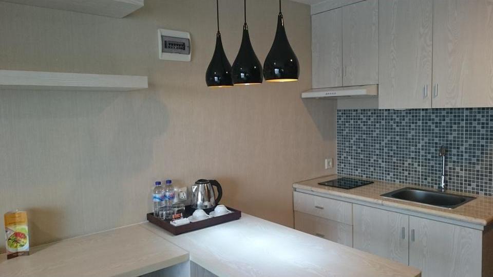 Student Park Hotel & Apartment Yogyakarta - Studio, dapur kecil Regular Plan