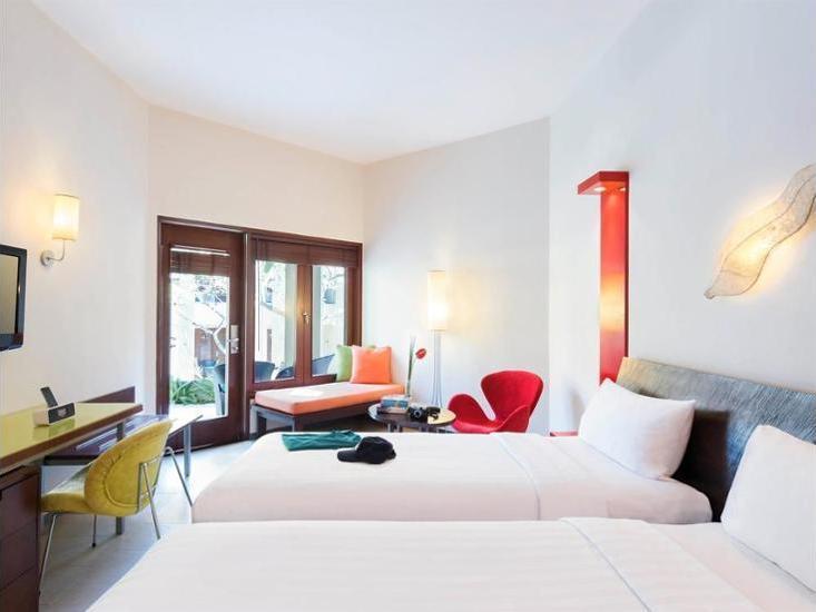 All Seasons Legian - Kamar Deluks, 2 Tempat Tidur Twin Regular Plan