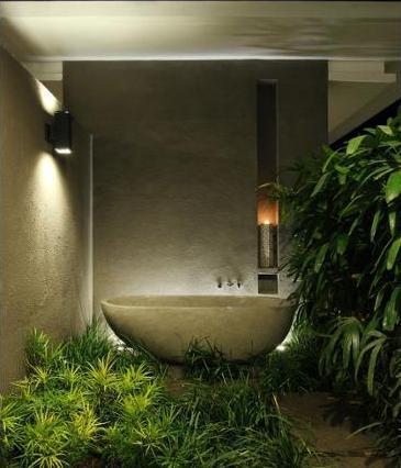 Aria Villas Ubud - Bathroom