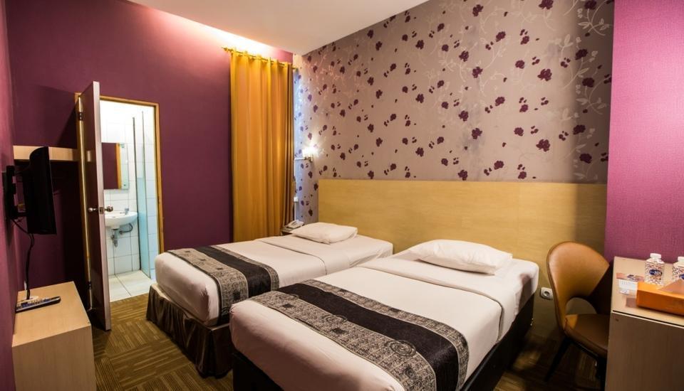 Mine Home Hotel Bandung - Superior tempat tidur twin
