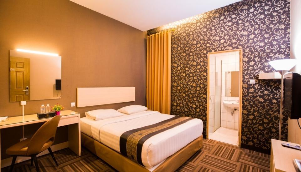 Mine Home Hotel Bandung - Superior tempat tidur double