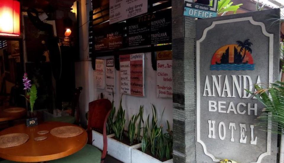 Ananda Beach Hotel Bali - Restoran