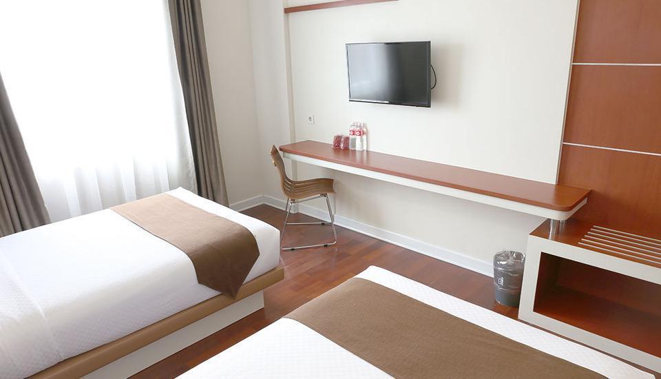 Citihub Hotel at Jagoan Magelang - Standart Twin Regular Plan