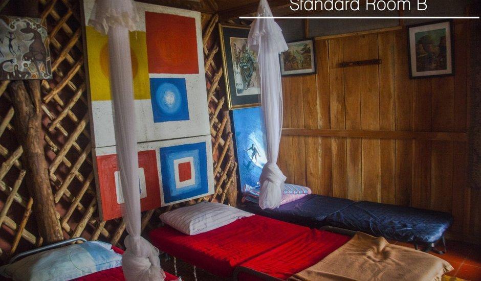 Karang Aji Beach Villa Sukabumi - Kamar Standar B